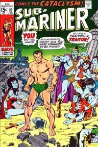 Sub-Mariner (1968 series) #33, Fine (Stock photo)