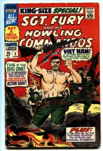 SGT. FURY and his Howling Commandos Annual #3 1967-Vietnam issue-Comic Book
