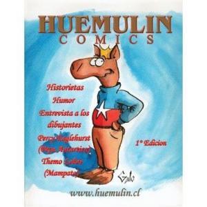 HUEMULIN COMICS DIBUJANTE JAIME GALO