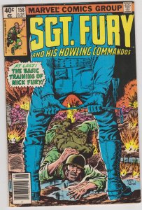 Sgt. Fury and His Howling Commandos #158 (1980)