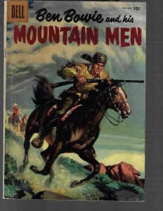 Ben Bowie and His Mountain Men #7 (Dell, 1956) VG/FN