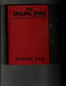 2 Books The Singing Fool and the Story of Sonny Boy Little Lord Fauntleroy JK35