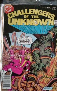 Challengers of the Unknown #83 (DC, 1977) Condition FN