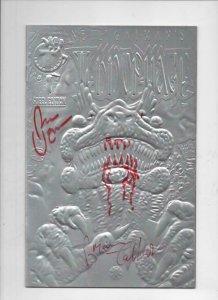 TEKNOPHAGE #1, NM, Neil Gaiman, Signed Bryan Talbot & Rick Veitch,1995, Steel