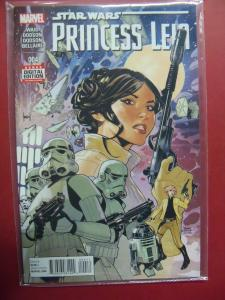 PRINCESS LEIA #004 REGULAR  COVER NEAR MINT 9.4 MARVEL COMICS 2015 SERIES