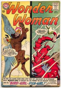 WONDER WOMAN #147 AMAZON WOMEN FIGHT & POSE  DC  1964 FN