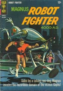 Magnus Robot Fighter (1963 series) #16, Fine (Stock photo)