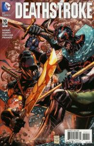 Deathstroke (2nd Series) #10 VF/NM; DC | save on shipping - details inside