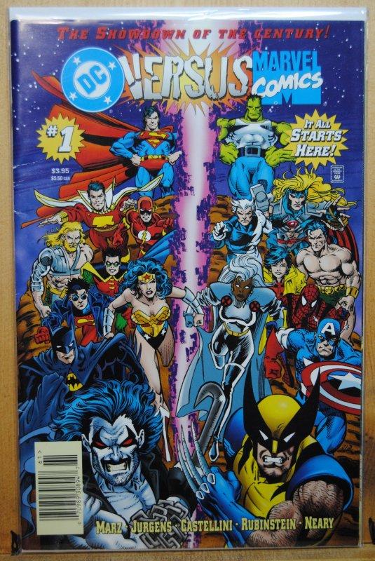 DC Versus Marvel/Marvel Versus DC  (MX) #1 (1997)