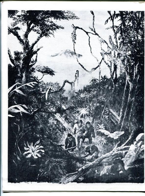 ERB-dom #18 1966-Edgar Rice Burroughs & Tarzan fanzine-Frank Frazetta-VF