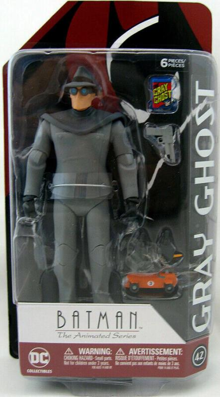 DC Collectibles Batman Animated Series Gray Ghost Action Figure (DC, 2019) New!