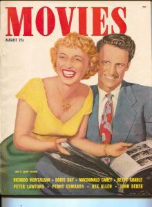 Movies-Jane & Geary Steffen-MacDonald Carey-Gregory Peck-Aug-1951