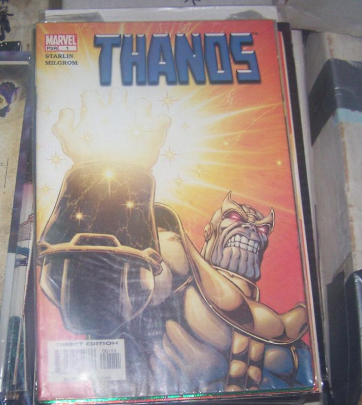 Thanos #1 (Dec 2003, Marvel) infinity gauntlet jim starlin+ADAM WARLOCK