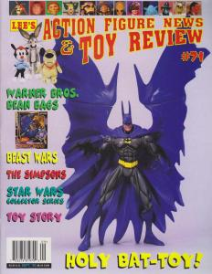 Action Figure News And Toy Review #71 VF/NM; Lee | save on shipping - details in