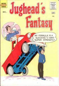 JUGHEADS FANTASY (1960)3 F-VF December 1960 COMICS BOOK