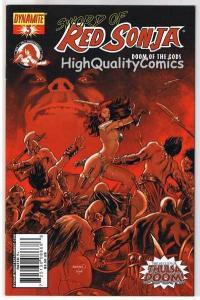 RED SONJA : Doom of the Gods #3, NM, Robert Howard, Renaud, more RS  in store