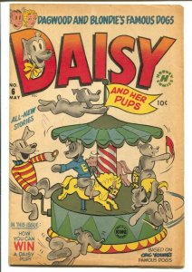 Daisy and Her Pups #2 1952-Harvey-Dagwood & Blondie-Merry-go-round-FN