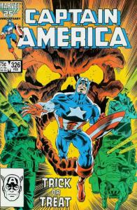 Captain America (1st Series) #326 VF/NM; Marvel | save on shipping - details ins