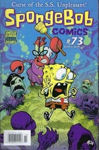 SPONGEBOB #73 NM, Square pants, Bongo, Cartoon comic, 2011 2017, more in store