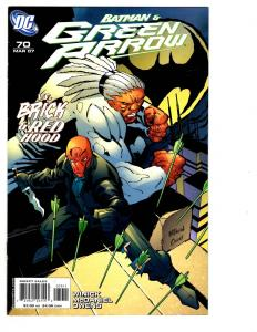 6 Green Arrow DC Comics #70 71 72 73 74 75 Batman Red Hood Brick Canary JLA BH27