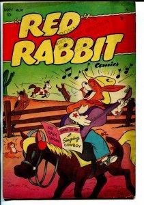 Red Rabbit #10 1949-violent humor-funny animals-FN-