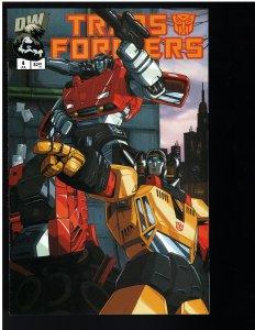 Transformers: Generation One #4 (Dreamweave, 2004)