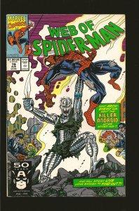 Marvel Comics Web of Spider-Man #79 August (1991)