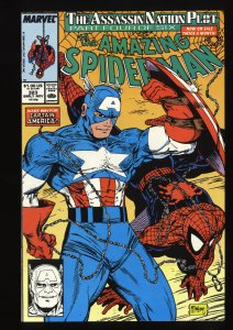 Amazing Spider-Man #323 NM- 9.2 Marvel Comics Spiderman