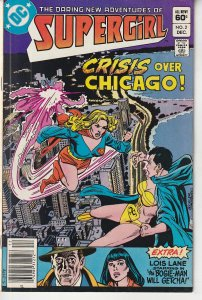 Daring New Adventures of Supergirl # 2 1st Appearance of Suicide Squad's PSI !