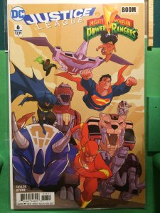 Justice League/ Mighty Morphin Power Rangers #6 of 6