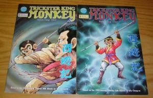 Trickster King Monkey #1-2 VF/NM complete series based on wu cheng-en folk story