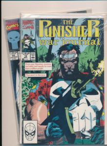Marvel Comics THE PUNISHER Mixed Lot #18 & #55 FINE/VERY FINE (HX679)