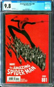 Amazing Spider-Man #801 CGC Graded 9.8