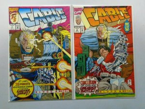 Cable Blood and Metal Set:#1+2, 6.0/FN (1992)