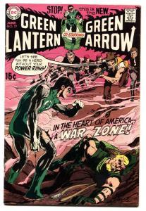 Green Lantern #77 1970-dc Comics-green Arrow-adams Art  VF+