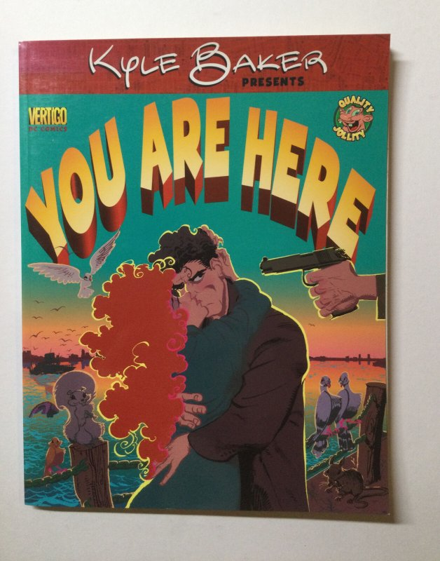 You Are Here Kyle Baker Tpb Near Mint Nm Softcover Sc Dc Vertigo