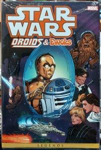 Star Wars: Droids & Ewoks Omnibus #1 NM Hard Cover in original sealed packaging