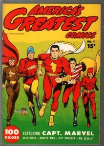 America's Greatest Comics  #1 1941-Flashback-reprints original Golden Age com...