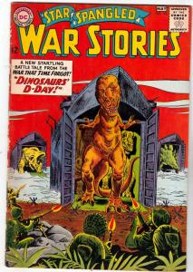 Star Spangled War Stories #108 (May-63) FN/VF- Mid-Grade War That Time Forgot...