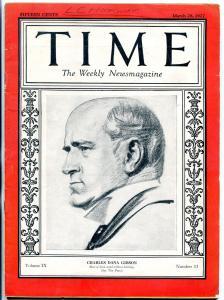 Time Magazine March 28 1927- Charles Dana Gibson