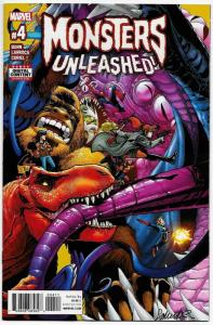 Monsters Unleashed #4 (Marvel, 2017) NM