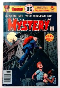 House of Mystery #242 DC 1976 FN/VF Bronze Age Comic Book 1st Print