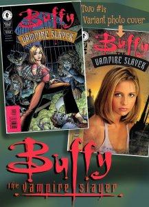 BUFFY THE VAMPIRE SLAYER #1 (Sept1998) Dark Horse - Also variant #1 Photo Cover