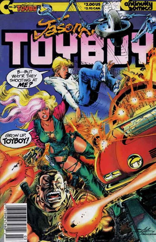 Toyboy #3 FN; Continuity | save on shipping - details inside