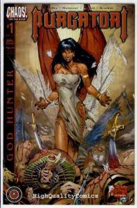 PURGATORI : GOD HUNTER #1, VF/NM, Vampire, Good Girl, Brian Pulido, 2002