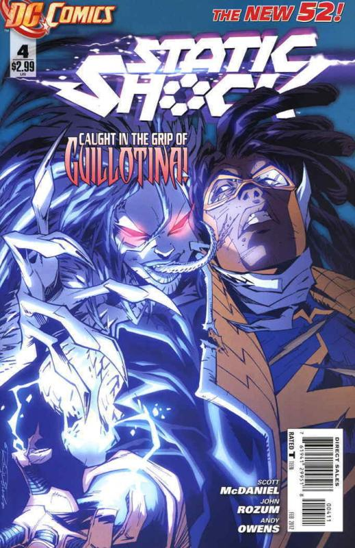 Static Shock #4 VF/NM; DC | save on shipping - details inside