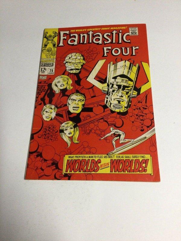 Fantastic Four 75 Fn- Fine- 5.5 Marvel Comics