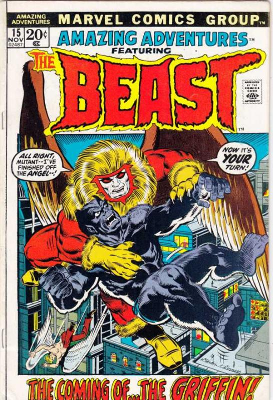 Amazing Adventures #15 (Sep-71) VF- High-Grade The Beast