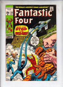 Fantastic Four #114 (Sep-71) FN+ Mid-High-Grade Fantastic Four, Mr. Fantastic...