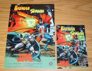 Batman/Spawn: War Devil #1 VF one-shot set + poster  chuck dixon/klaus janson
